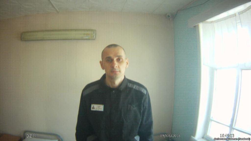 Олег Сенцов после голодовки