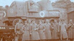 """Бронеавтомобиль """"Гайдамака"""", который армия УНР использовала в походе на Крым в 1918 году"""