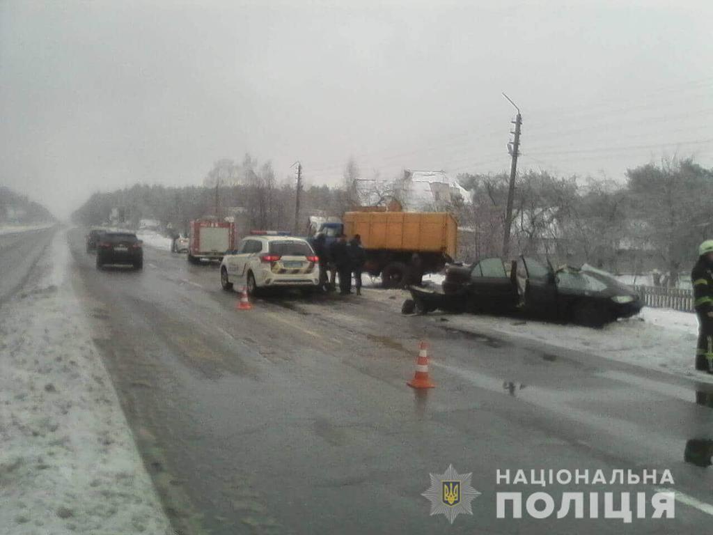 Смертельное ДТП под Киевом