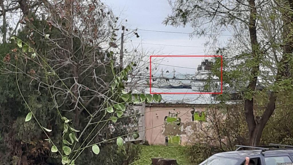 Захоплені РФ кораблі України зникли з Керчі