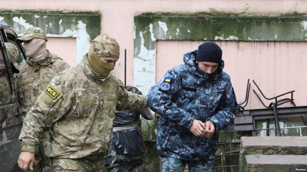 Затримання українських моряків у Криму