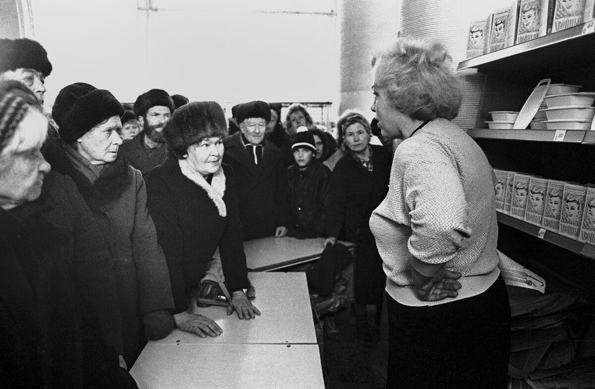Советский Новый год — погоня за дефицитом