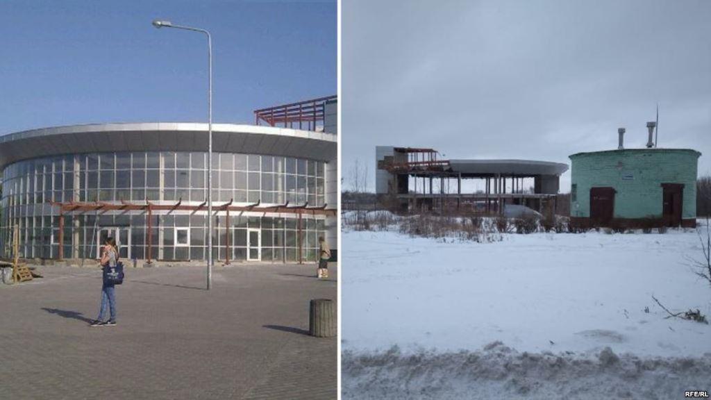 """Автовокзал """"Західний"""" до і після"""