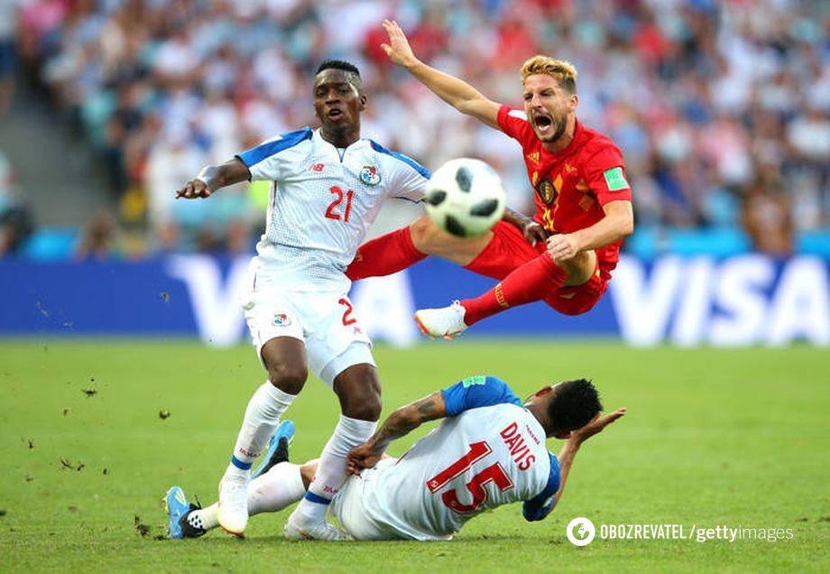 Матч групового етапу чемпіонату світу з футболу 2018 Бельгія – Панама