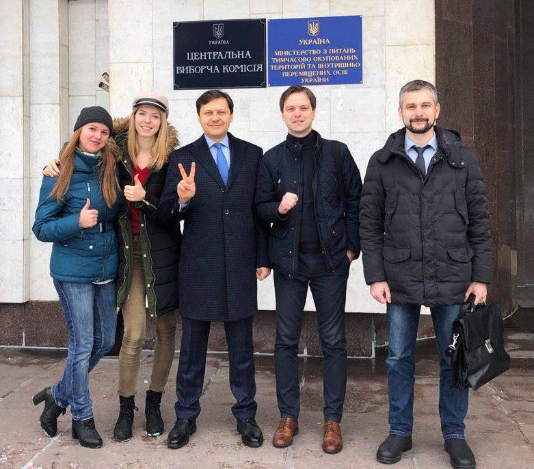 Игорь Шевченко подал документы