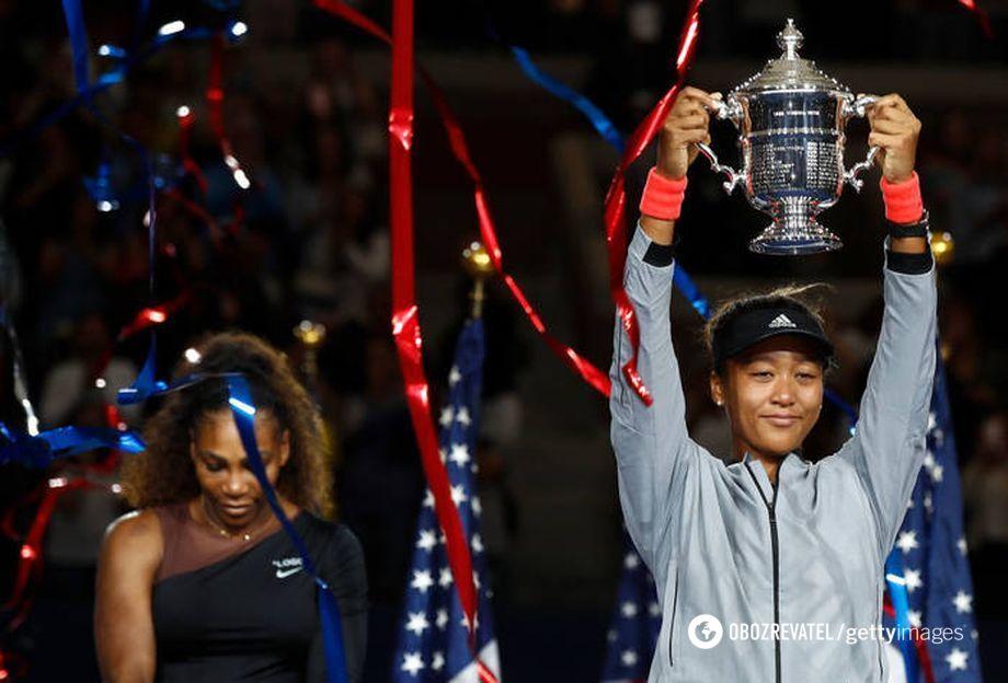 Перемога японки Наомі Осака над Сереною Вільямс у фіналі US Open