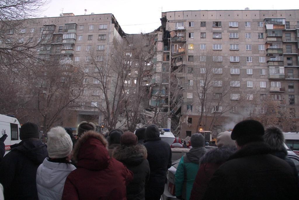Исчез целый подъезд: видео после взрыва в Магнитогорске