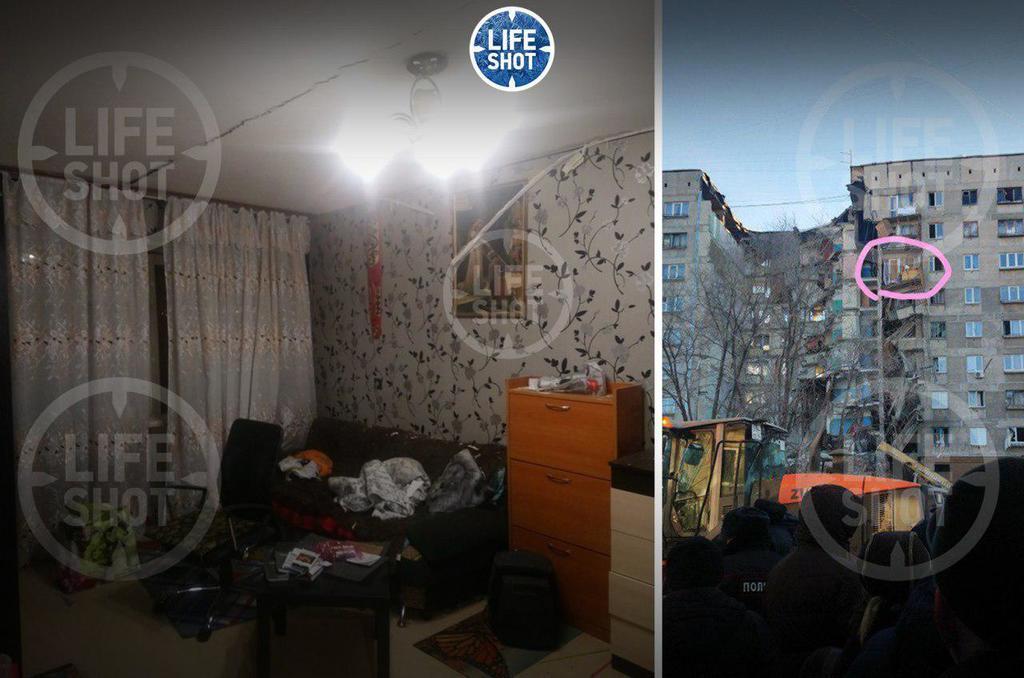 Квартира на восьмом этаже дома в Магнитогорске