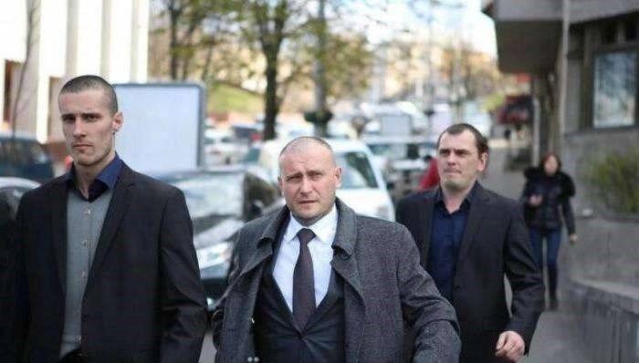 Олександр Шумков (ліворуч) і Дмитро Ярош