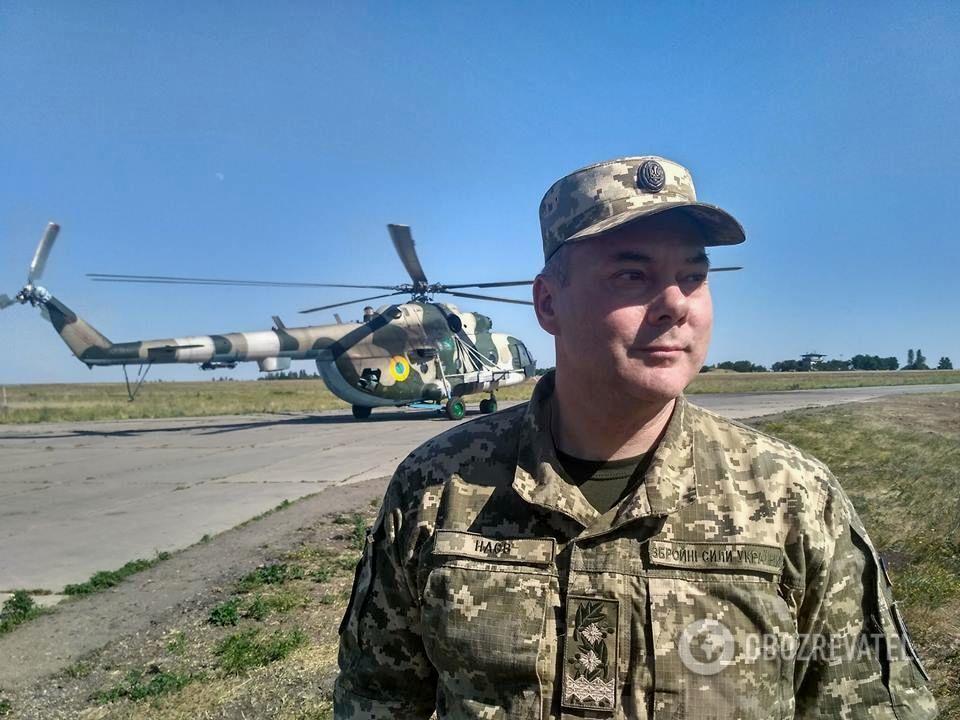 Командувач Об'єднаних сил генерал-лейтенант Сергій Наєв