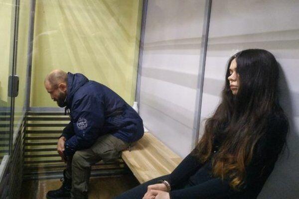 Обвиняемые в ДТП в Харькове Елена Зайцева и Геннадий Дронов