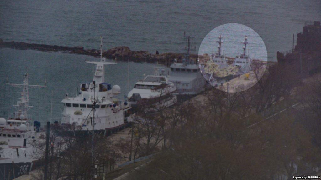 Кораблі перемістили в іншу частину порту
