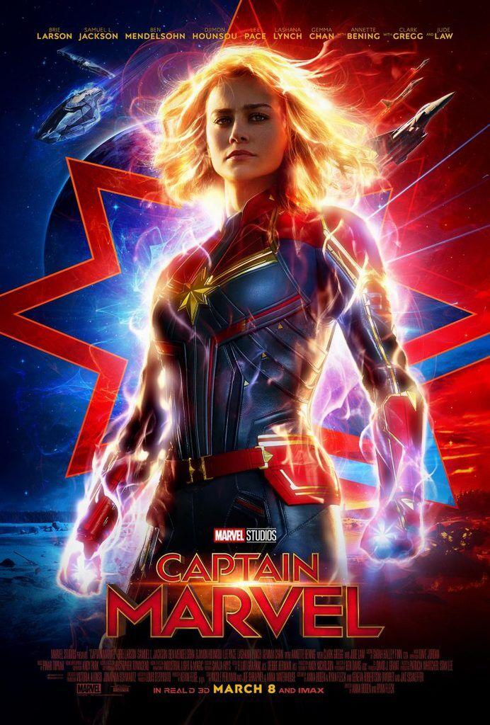 В сети представили новый трейлер саги ''Капитан Марвел''