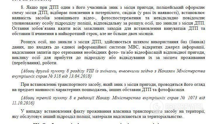 Наказ МВС України