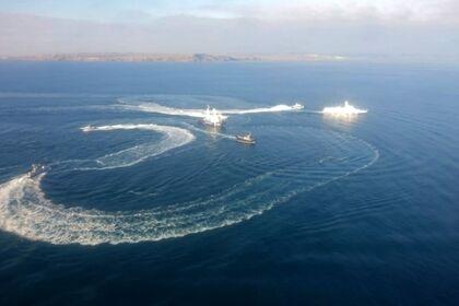Атака на українські кораблі у Чорному морі