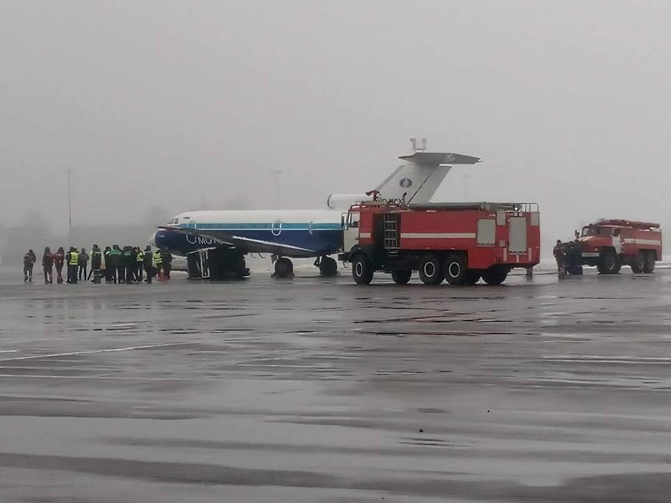 В аэропорту Киев произошло ЧП с самолетом: подробности инцидента