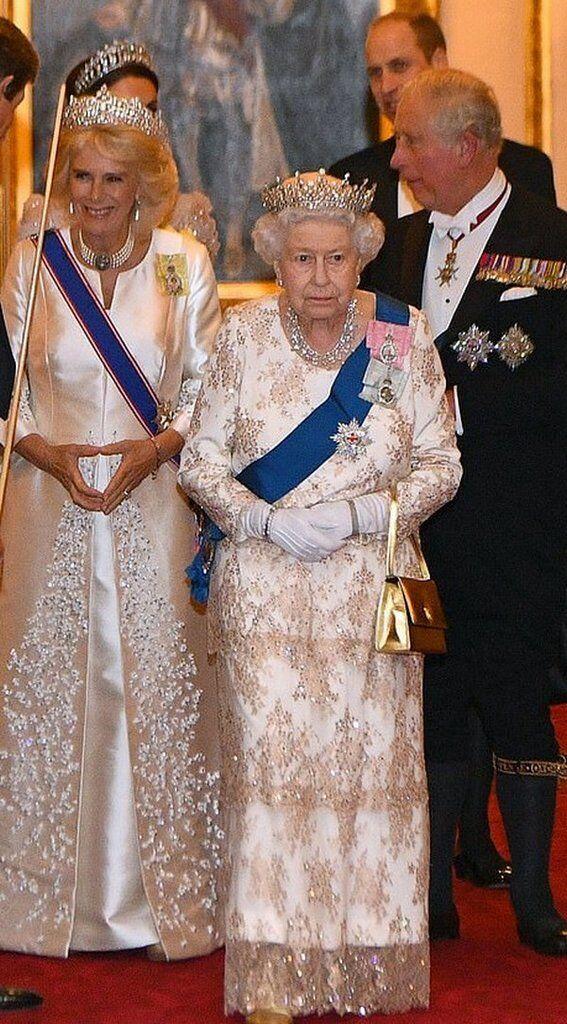 Міддлтон блиснула на прийомі модним вбранням: що носить герцогиня