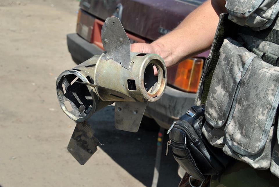 Міни, що використовуються Росією на Донбасі