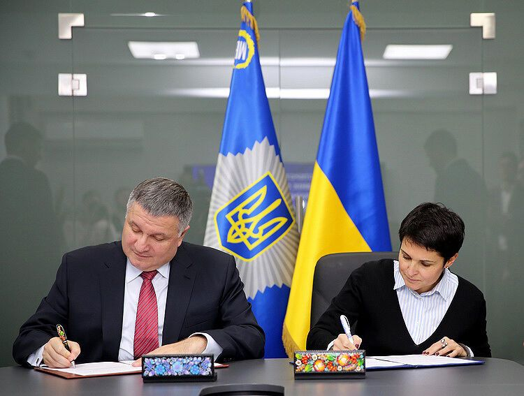 Вибори в Україні: МВС і ЦВК підписали договір