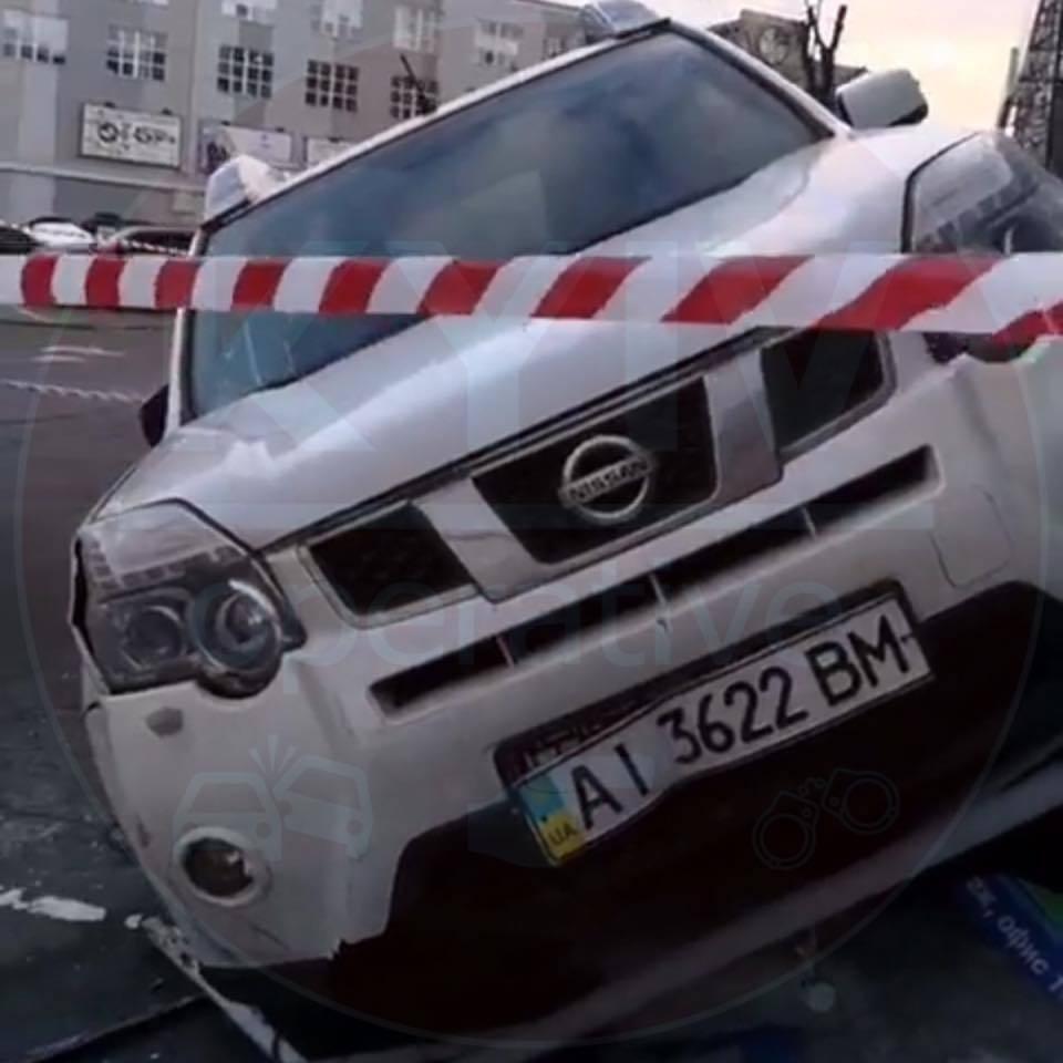 Розстріляний автомобіль