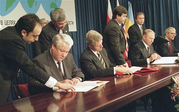 Подписание Будапештского меморандума