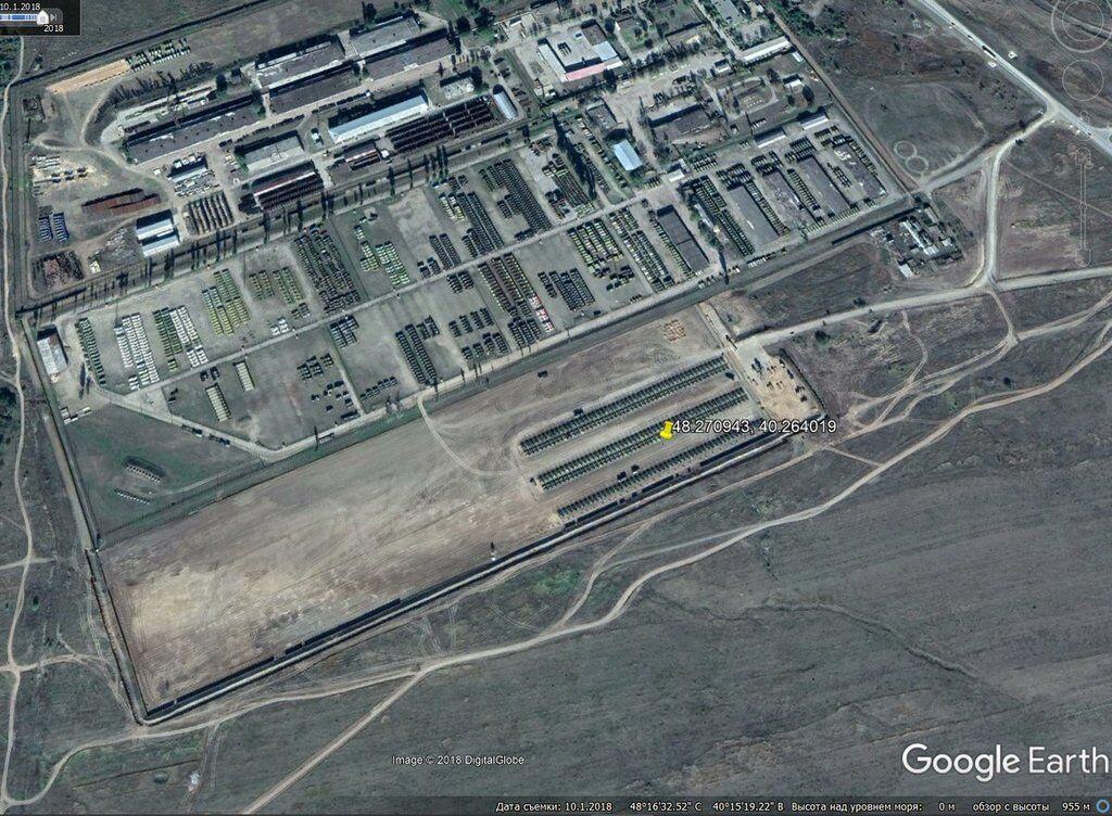 РФ перекинула 250 танків до кордонів України