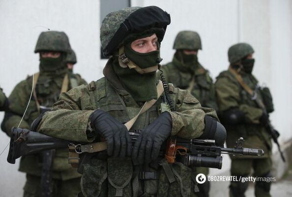 Зелені чоловічки ЗС РФ