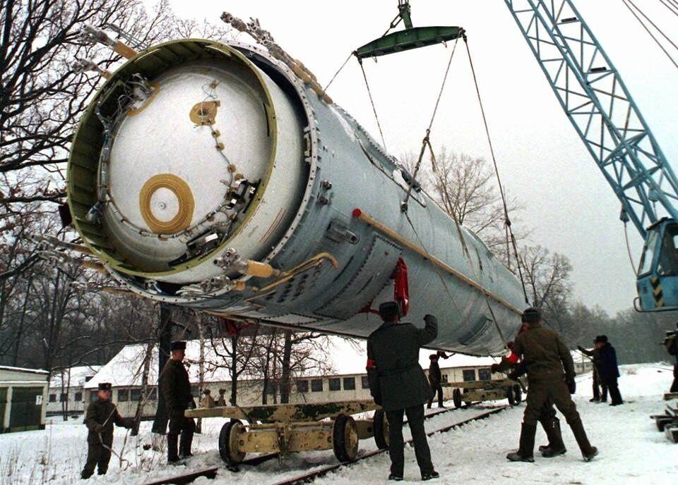 Утилізація балістичної ракети SS-19 у Житомирській області