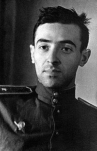 Володимир Етуш у молоді роки