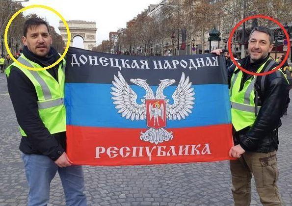 В протестах у Франції знайшли ''вуха Кремля''