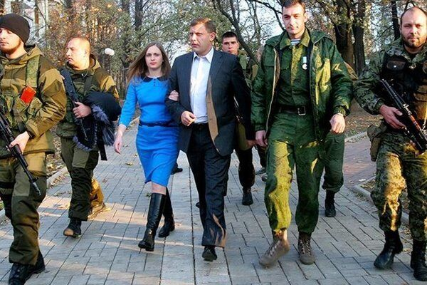 Наталя і Олександр Захарченко