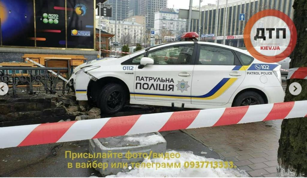 У Києві сталося одразу три ДТП з патрульними: всі подробиці