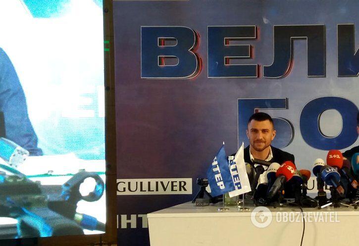 Ломаченко назвал имя соперника и дату следующего боя