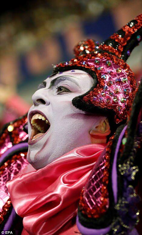 У Ріо-де-Жанейро почався знаменитий карнавал