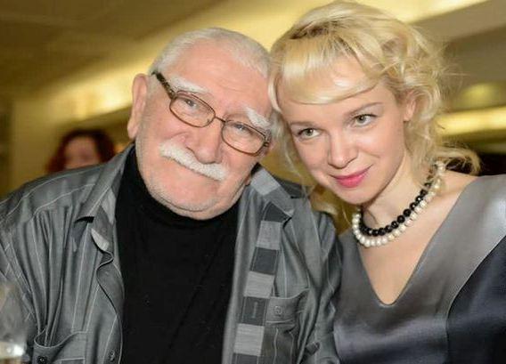 Армен Джигарханян і Віталіна Цимбалюк-Романовська