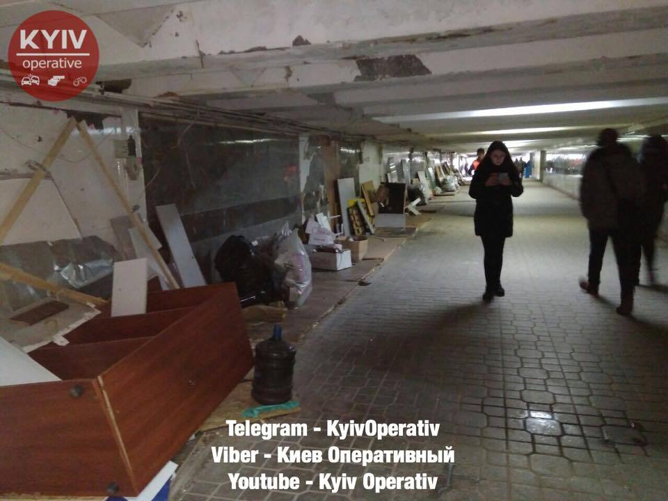 """Київ без МАФів: """"зачистка"""" Майдану потрапила на відео"""
