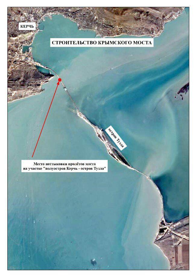 Провал: будівельники Керченського мосту припустилися грубої помилки