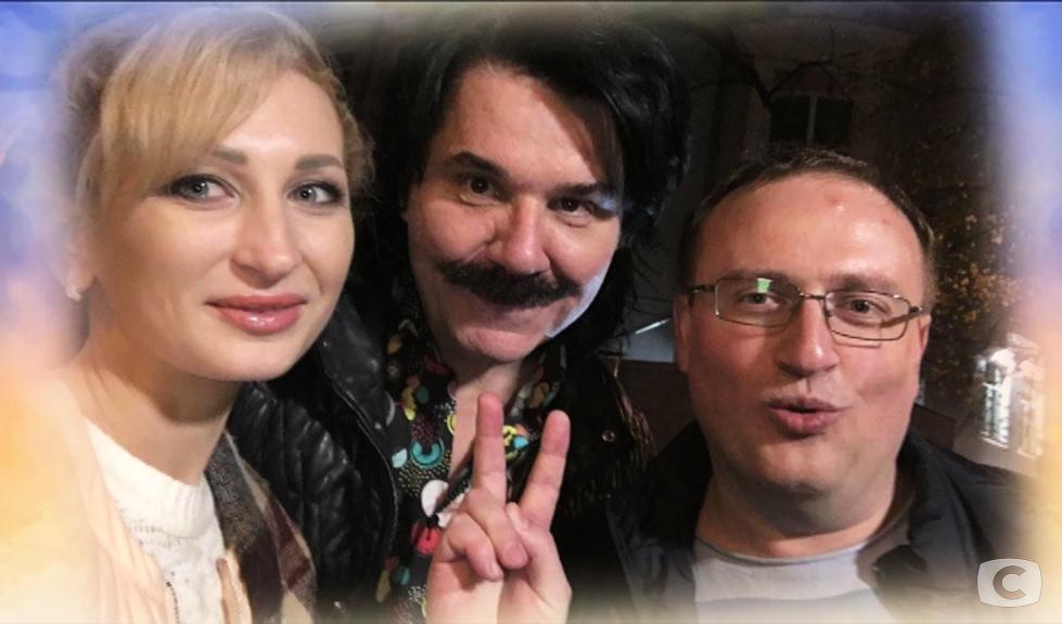 Люда Дмуха, Павел Зибров и Павел Ткаченко