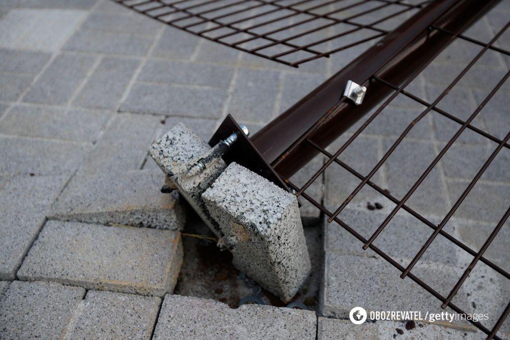 Потужний ураган розгромив олімпійський парк: є постраждалий