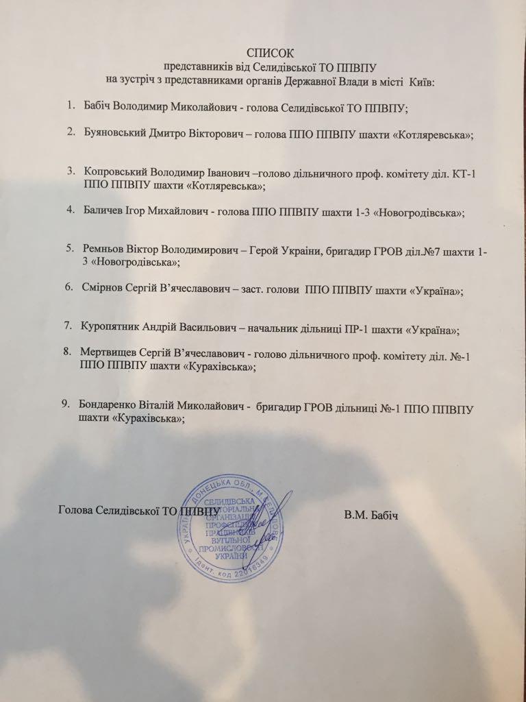 """Шахтерам ГП """"Селидовуголь"""" выплатили 365 млн долга"""