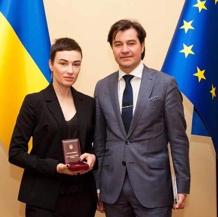 Анастасія Приходько та Євген Нищук