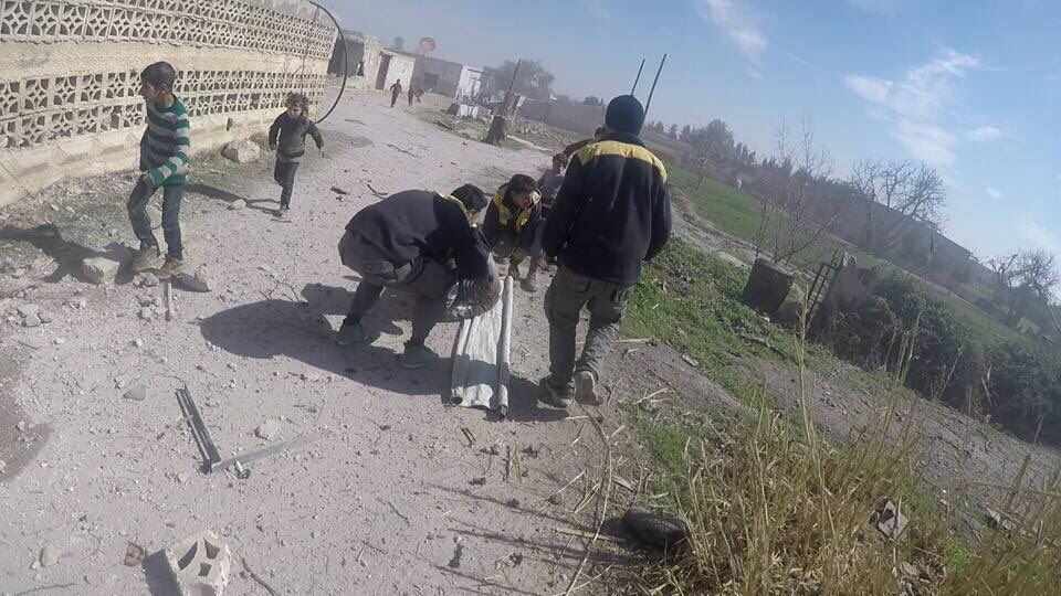 Пригород столицы Сирии разбомбила авиация: более 70 жертв