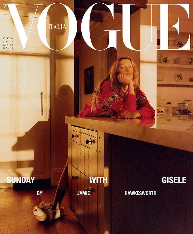 Жизель Бюндхен для Vogue