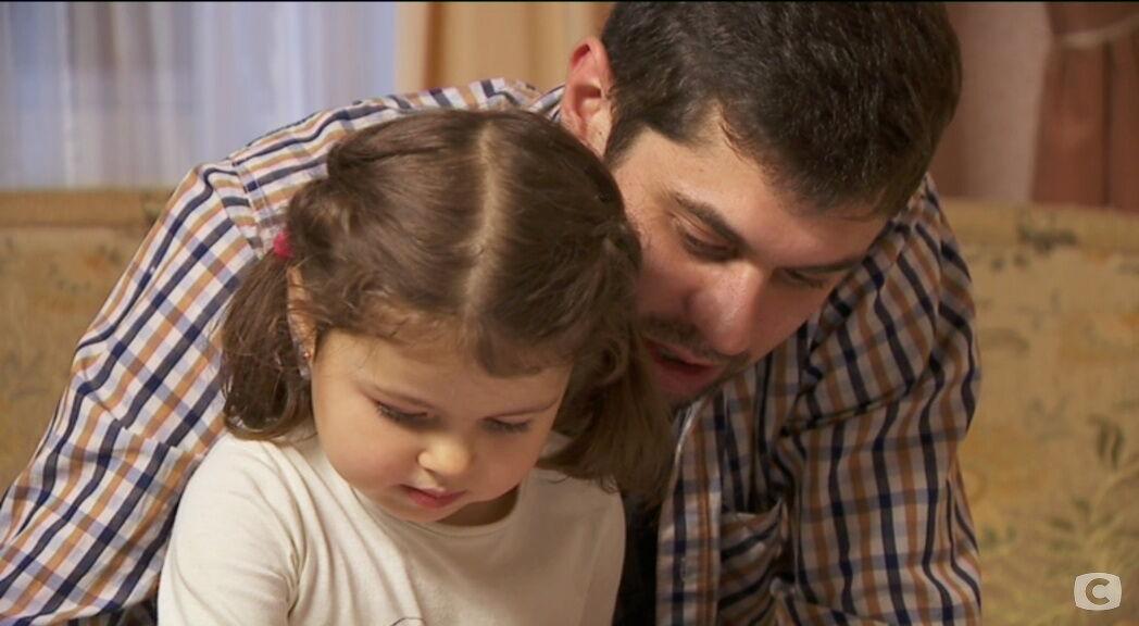 Антон Бауман с дочерью