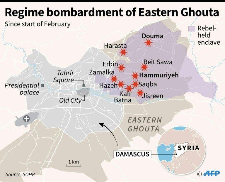 """""""Пекло на землі"""": біля столиці Сирії за 5 днів загинуло до 400 осіб"""