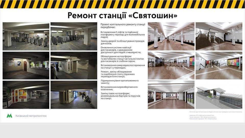 """Ремонт на станции """"Святошин"""": сколько терпеть и что получим"""