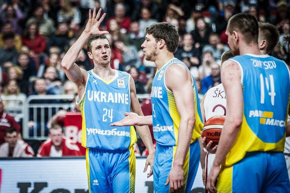 Україна обіграла Латвію у відборі на КМ з баскетболу-2019