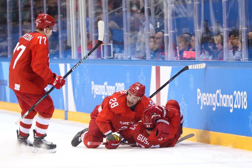 Российские хоккеисты чудом выиграли финал Олимпиады-2018