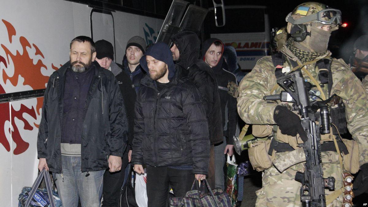 Большой обмен пленными состоялся 27 декабря 2017 года