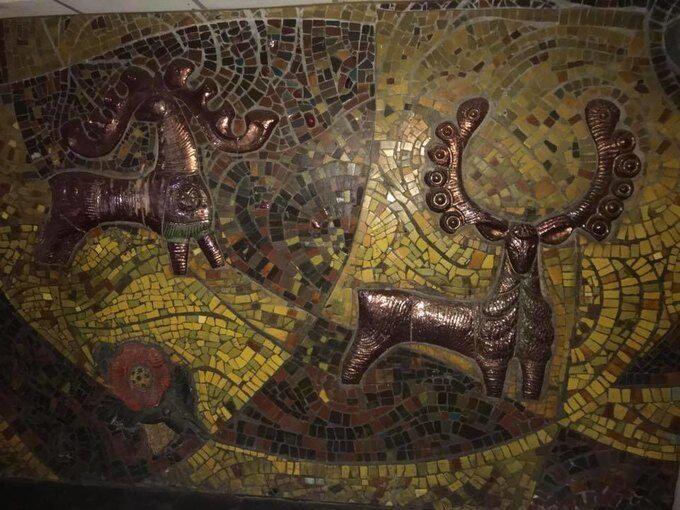 У переході на Майдані знайшли унікальні мозаїки
